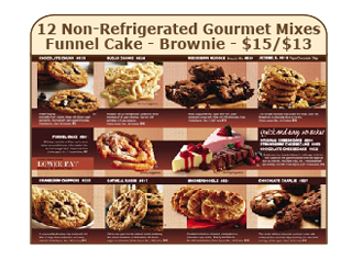 12 Non-Refrigerated Gourmet Mixes