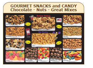 Gourmet Snacks and Candy - Chocolate - Nuts - Great Mixes